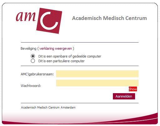 AMC webmail inloggen