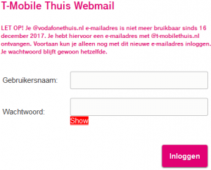 t mobile inloggen