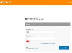 Strato webmail inloggen