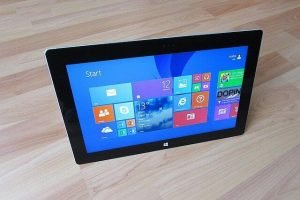 E-mail windows tablet